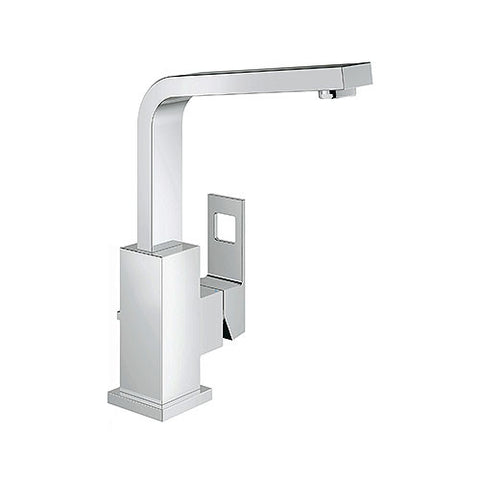 Eurocube Basin Mixer High Spout + Pop-Up Waste
