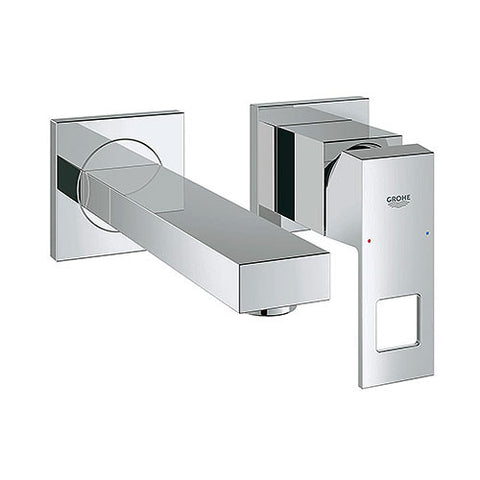 Eurocube Single Lever Wall Mounted Basin Mixer