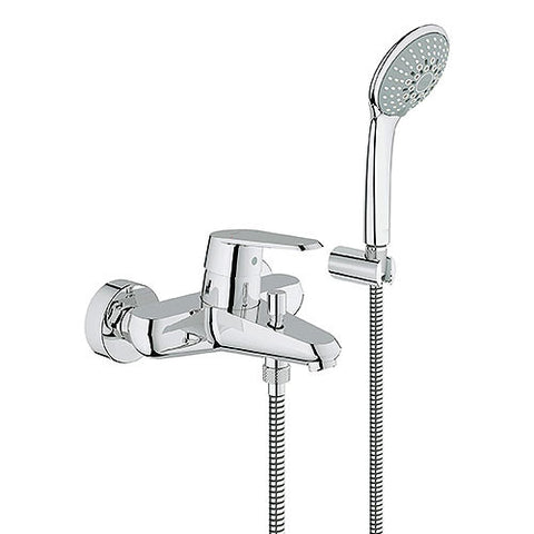 Eurodisc Cosmo Single Lever Bath Mixer with Hand Shower