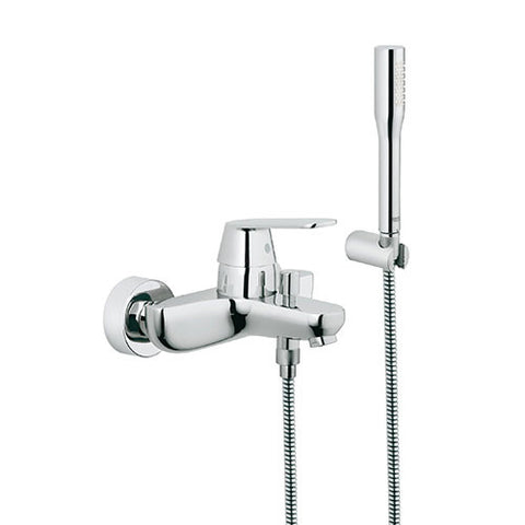 Eurosmart Cosmo Single Lever Bath Mixer with Hand Shower Set