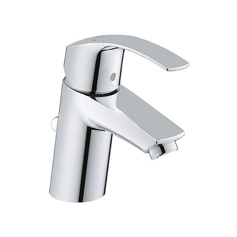 Eurosmart Small Basin Mixer with Pop-Up Waste