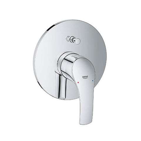 Eurosmart Single Lever Bath/Shower Diverter Mixer Trim Set