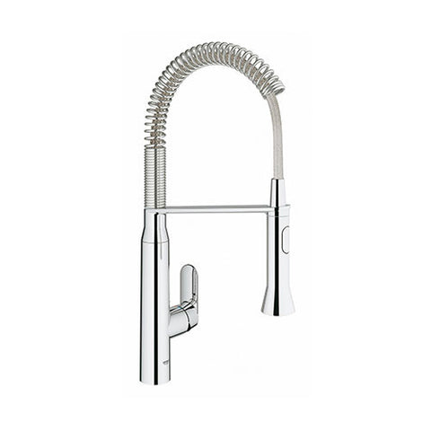 K7 Professional Single Lever Kitchen Sink Mixer with Spring Swivel Arm