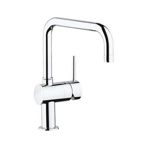 Minta Single Lever Kitchen Sink Mixer with Swivel U-Spout