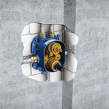Rapido T Universal Thermostatic Bath/Shower Mixer For Concealed Installation