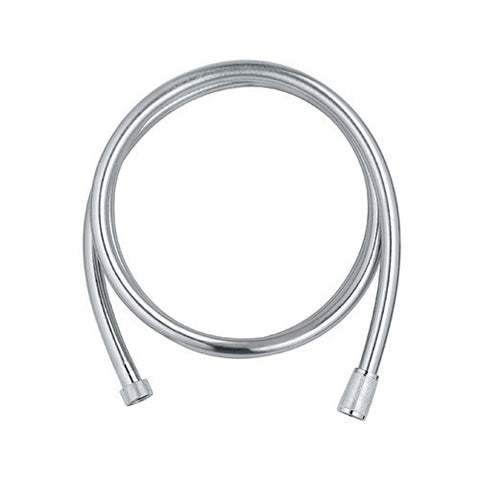 Silver Flex Shower Hose with Swivel Connector - 2000mm