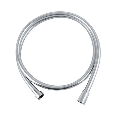 Silver Flex Shower Hose with Swivel Connector - 1500mm