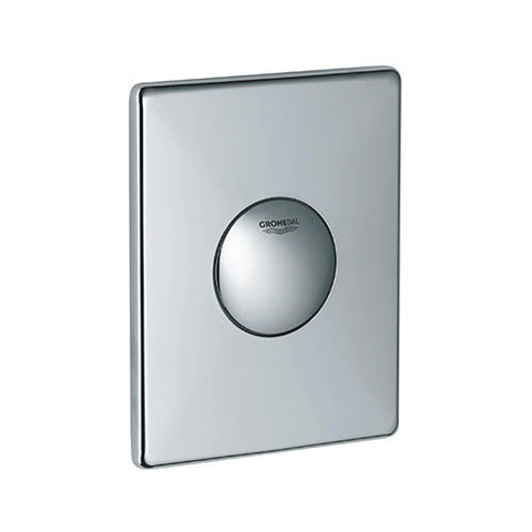 Skate WC Wall Plate Chrome
