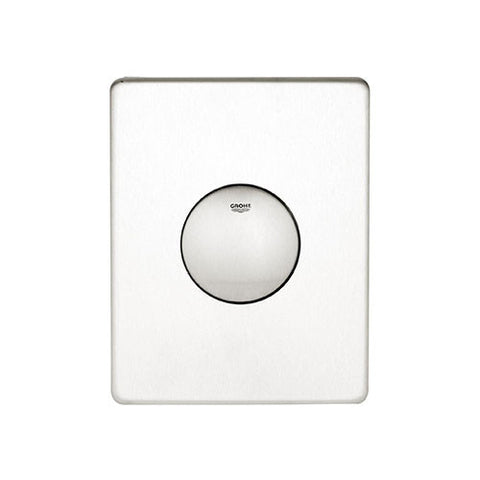 Skate WC Wall Plate Stainless Steel