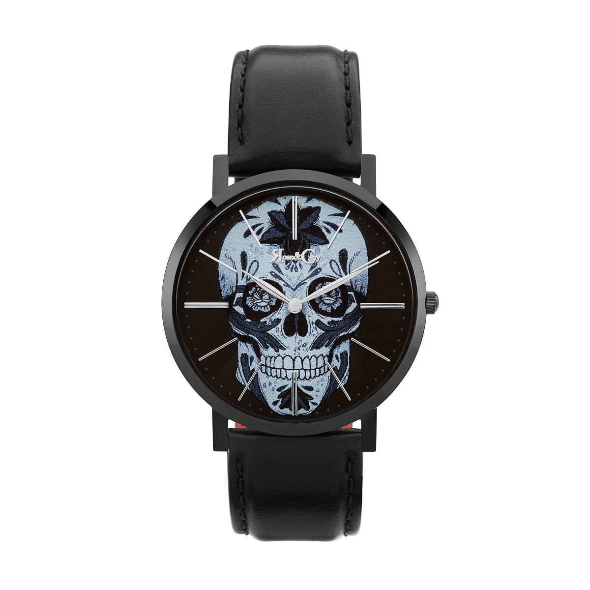 Midnight Sugar Skull Ultra Slim 40mm | Black Watch