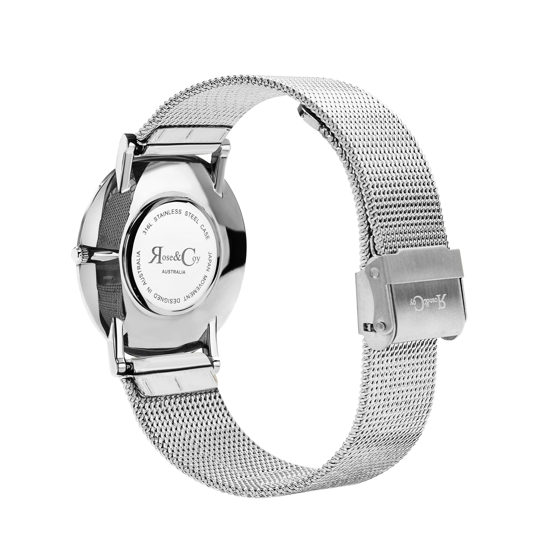 crystal watch watches metal womens mesh anita stainless multifunction skagen steel