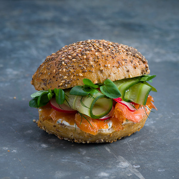 Manuka Smoked Salmon Roll