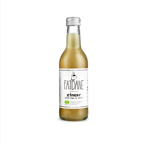 Fat Dane - Ginger With Lime And Chili, 250 ml