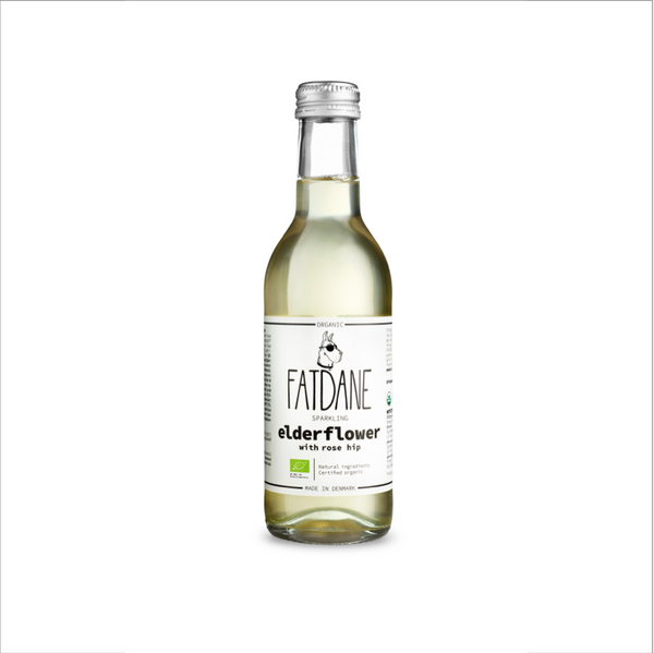 Fat Dane - Elderflower With Rose Hip, 250 ml
