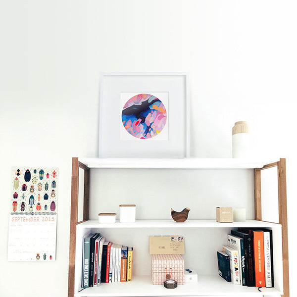 Circle abstract - Art print collection