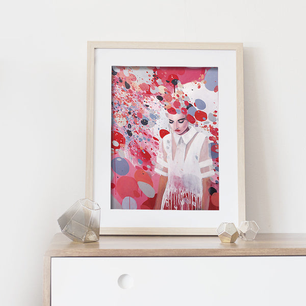 The female - Art print collection
