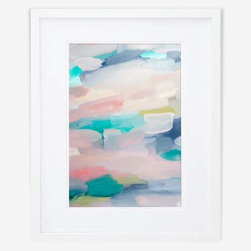 Shannon O'Neill Contemporary Australian Artist - modern abstract painting- A3 art print - Dreaming of sleep 1