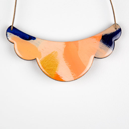 'Sadie' wearable art statement necklace