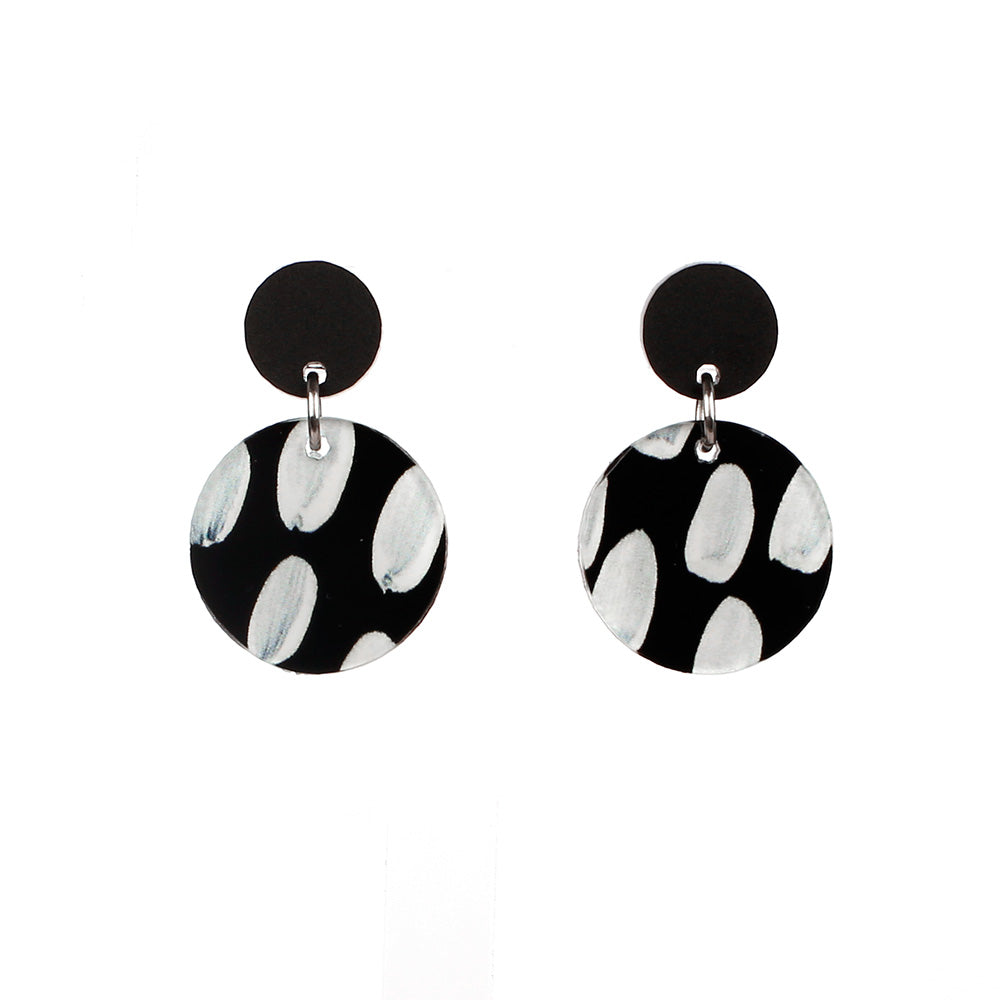 Statement art earring