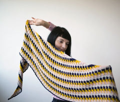 Olga Jazzy workshop Hisho shawl