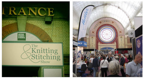 Knitting and Stitching show i London