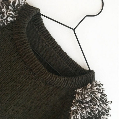 Kostume jumper from Spektakelstrik, knitted in Önling yarn