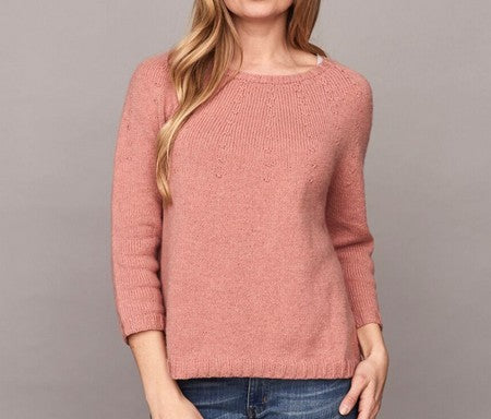 Katrine Hannibal strikkeopskrifter sweater