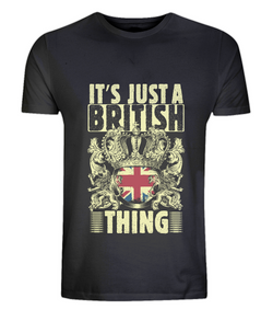 It's just a British thing - Men's/Unisex Classic Jersey T-Shirt