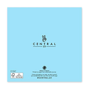 Central 23 - Funny Birthday Card - Birthday Card for Him - Birthday Checklist - Comes with Fun Stickers