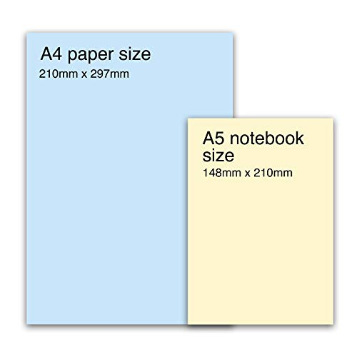 Central 23 - Journal A5 - Notebook - 'Busy Bee' - 190 Lined Pages - Thick 12mm Spine - Ruled Paper - Comes with Cute Stickers