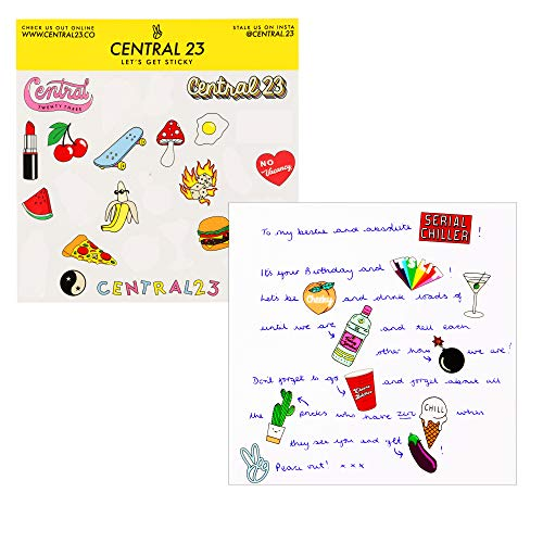 Central 23 – Funny Valentine's Day Card - 'I'd Give You My Last Chicken Nugget' - for Wife or Husband - Comes with Fun Stickers