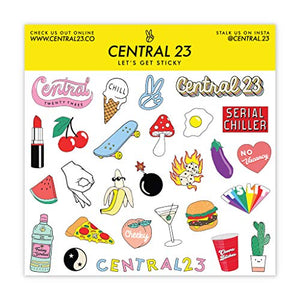 Central 23 – Cute Anniversary Card for Him – Romantic Valentines Card for Her – for Husband, Wife, Boyfriend, Girlfriend – Love Card – Comes with Fun Stickers