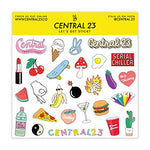 Load image into Gallery viewer, Central 23 – Cute Birthday Card – 'AVO Great Bday' for Her Him Best Friend – Greeting Card – for Men and Women – Comes with Fun Stickers