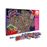 Load image into Gallery viewer, Central 23 - 1000 piece Jigsaw Puzzle - Puzzles for Adults - Thousand Piece Puzzle - Impossible Jigsaws for Adults 1000 pieces - Disco Inferno Theme
