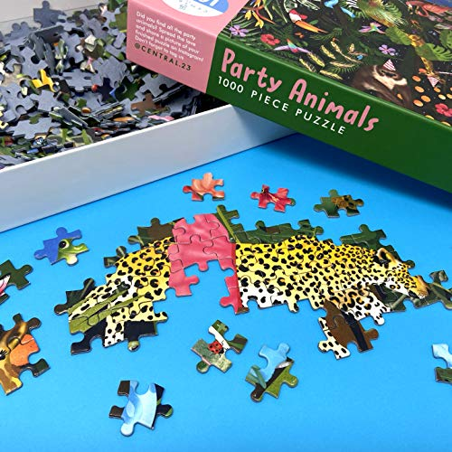 Central 23 - 1000 piece Jigsaw Puzzle - Puzzles for Adults - Thousand Piece Puzzle - Impossible Jigsaws for Adults 1000 pieces - Jungle Theme - Animals - Party