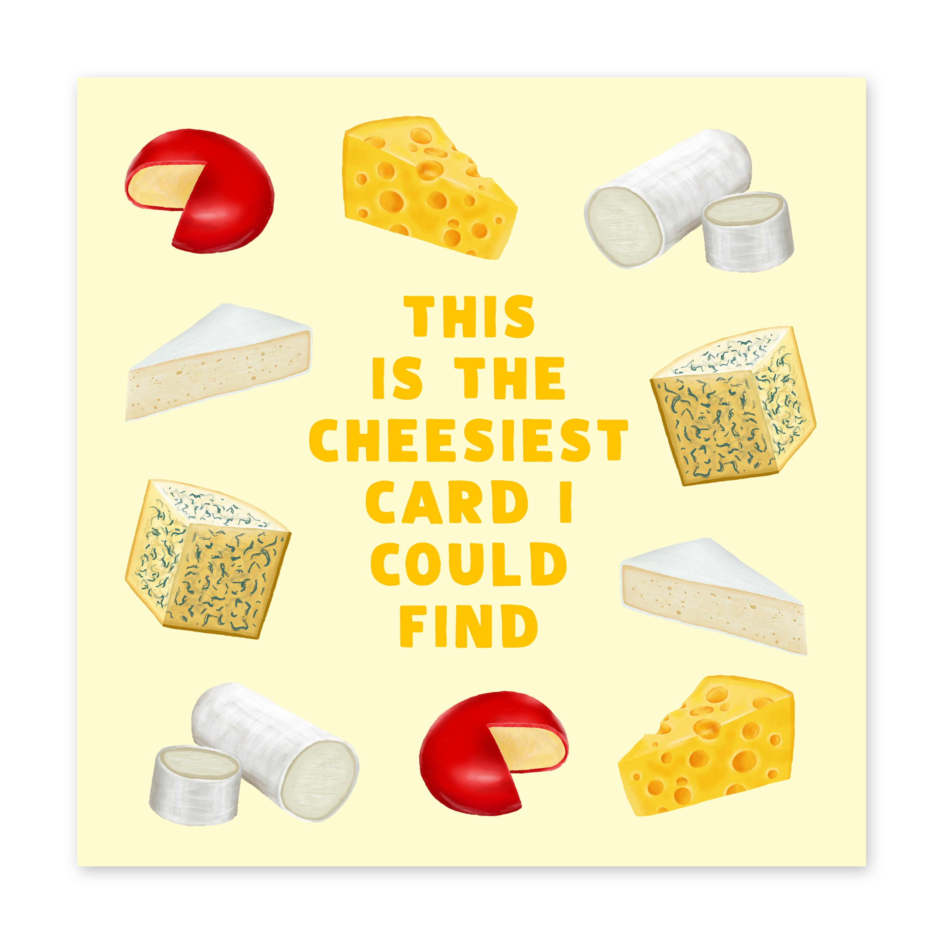 Cheesiest Love Card