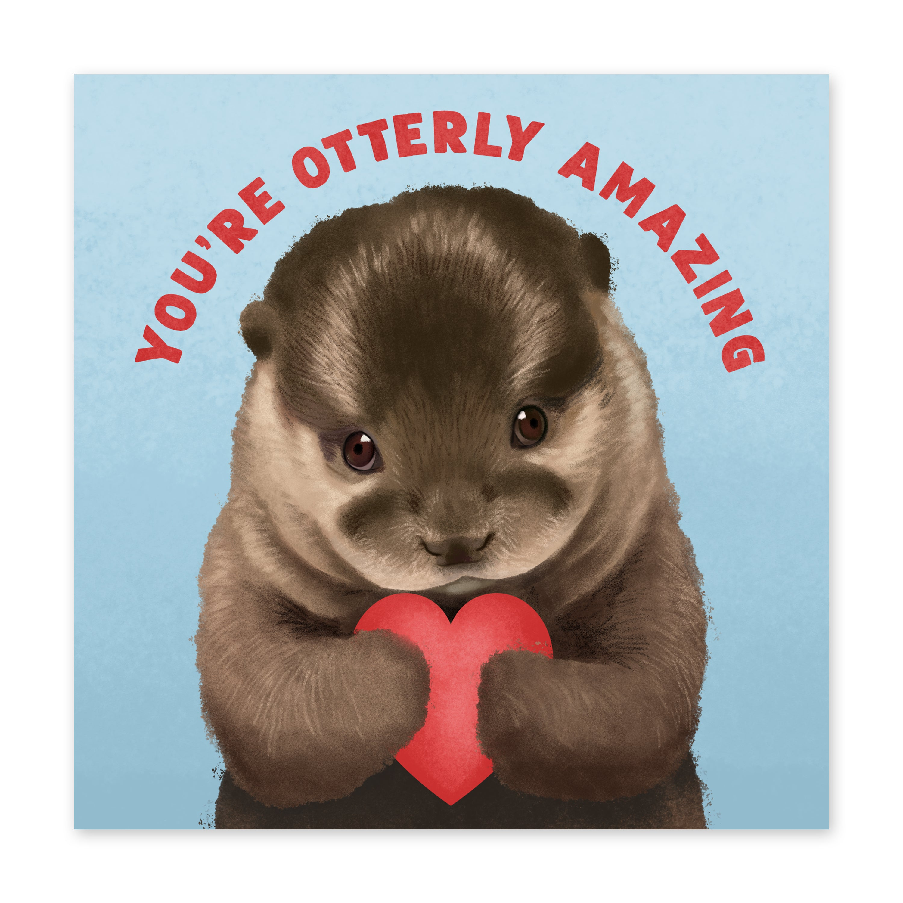 Otterly Amazing Card Love Card