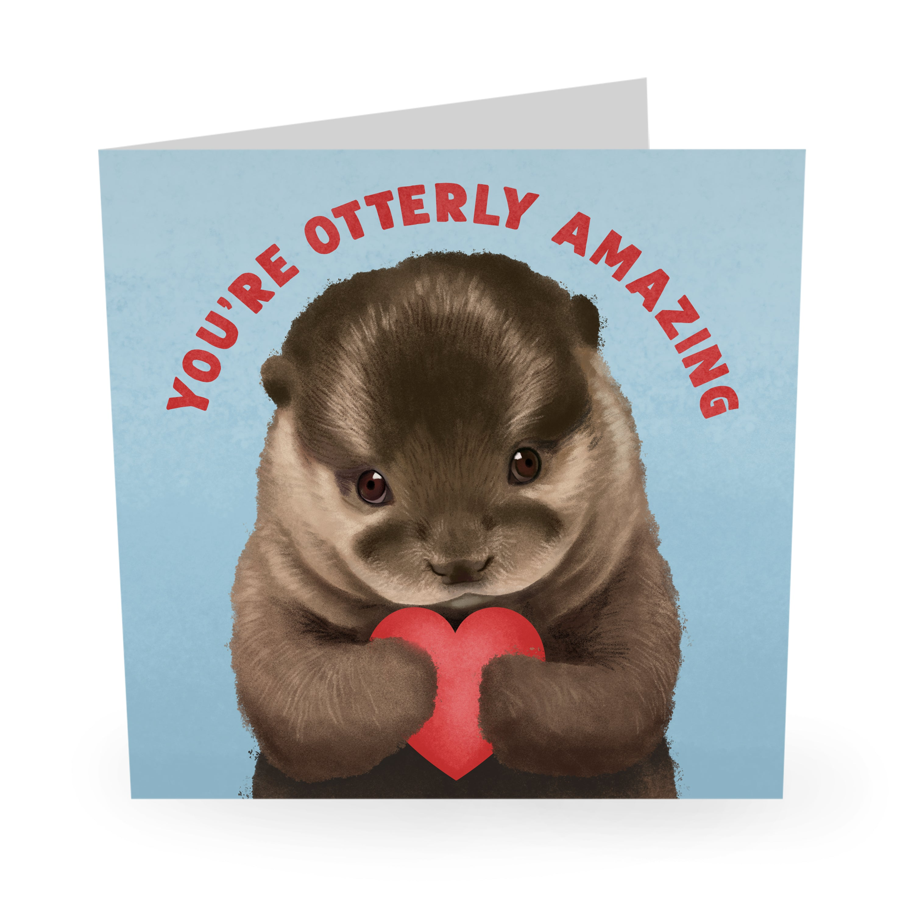 Otterly Amazing Card Love / Anniversary Card