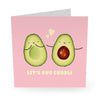 Avo Cuddle Anniversary Card- US