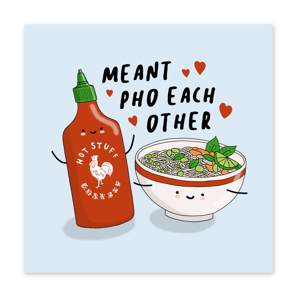 Meant Pho Eachother Love Card