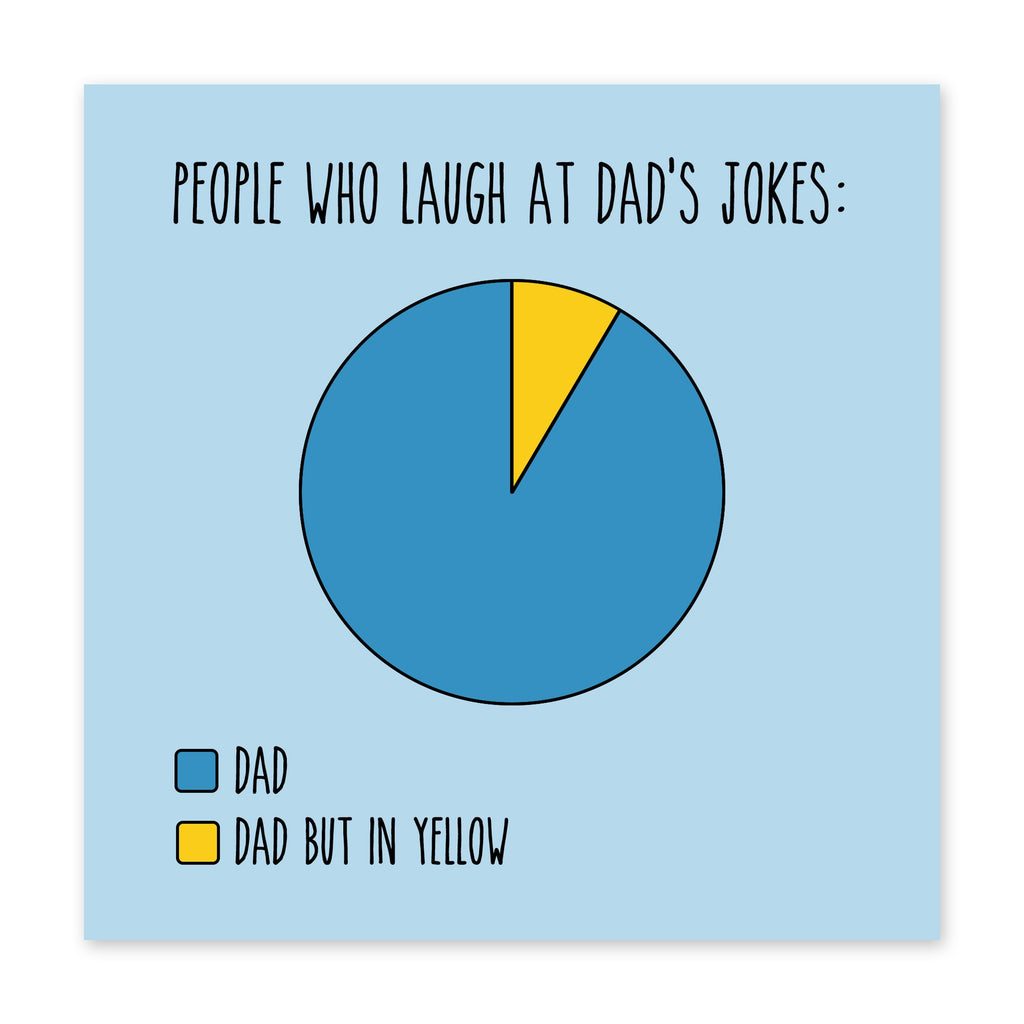 Dad Jokes Birthday Card- US