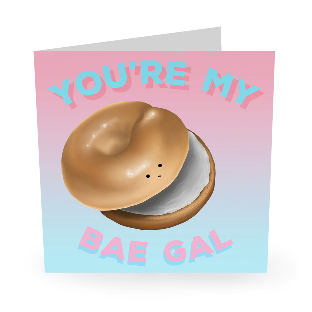 You're My Bae Gal Love / Anniversary Card - US