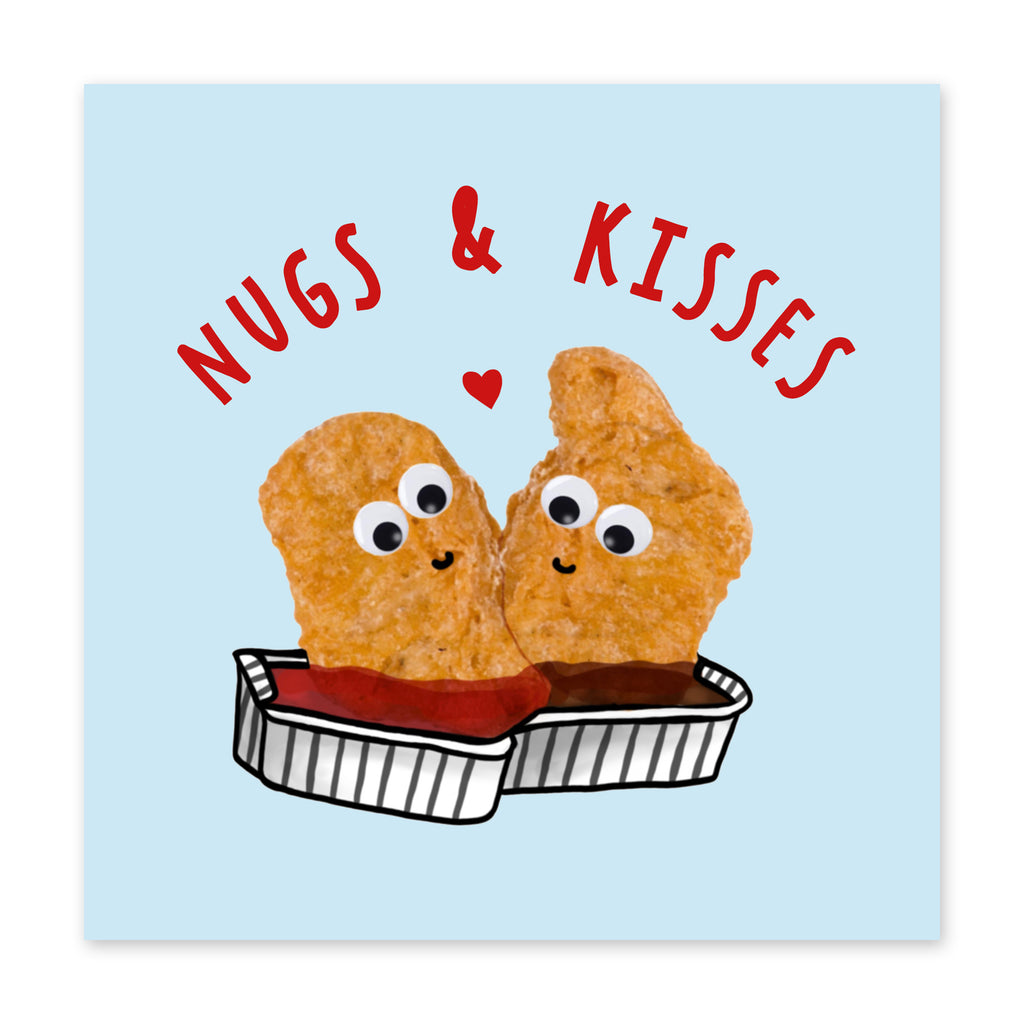 Nugs n Kisses Love Card