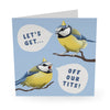 Get Off Our Tits Card Birthday Card