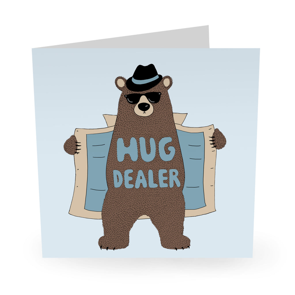 Hug Dealer Love / Anniversary Card