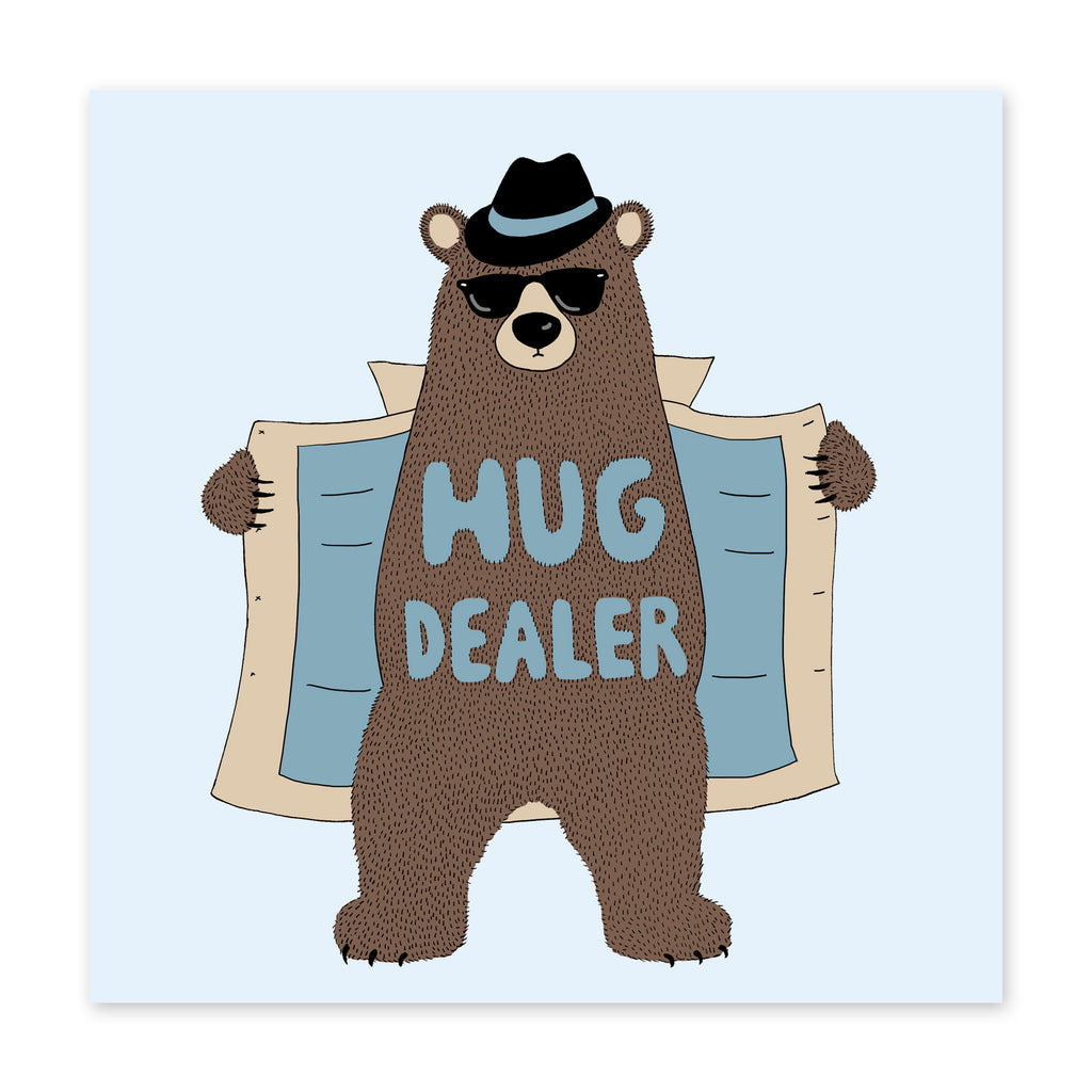 Hug Dealer Love Card