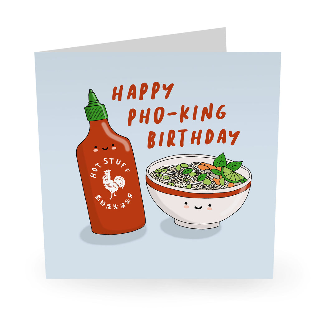 Happy Pho-king Birthday Card- US