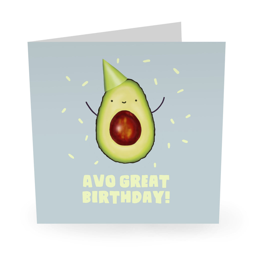 Avo Great Birthday Card - US