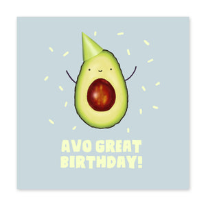 Avo Great Birthday Card