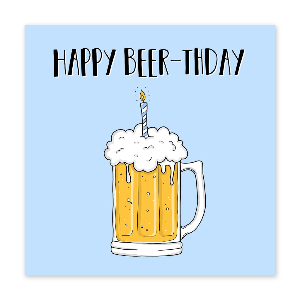 Happy Beerthday Card - US
